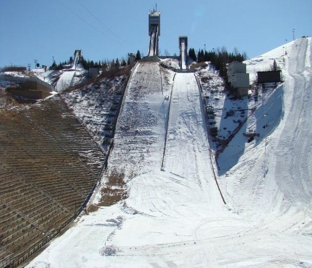 Canada Olympic Park Calgary 187 Skisprungschanzen Com