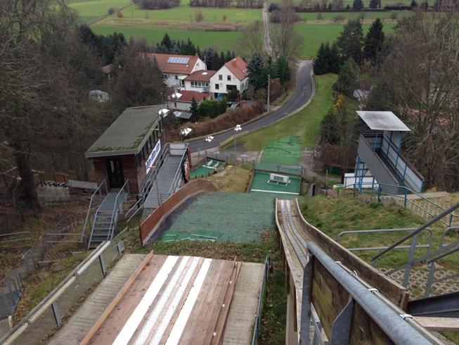 Skispringen Eilenburg