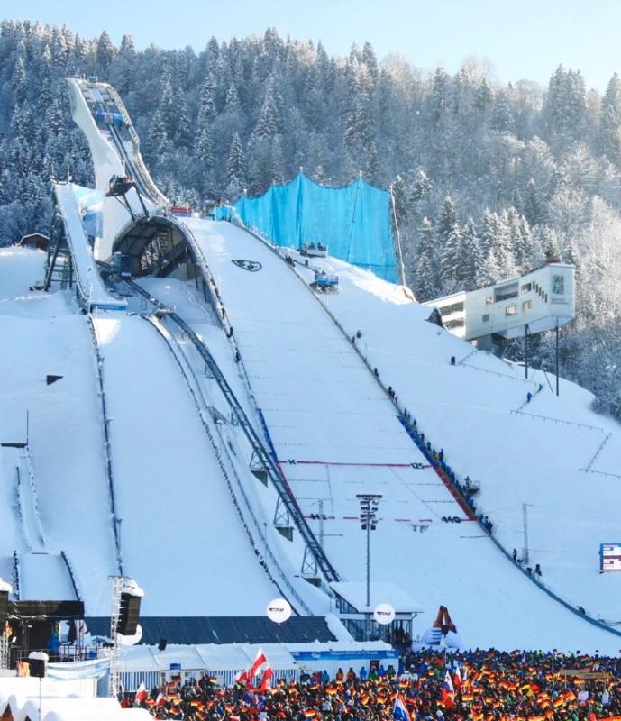 Olympiaschanze Garmisch Partenkirchen Ski Jumping Hill Archive Skisprungschanzen Com