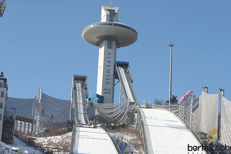 Znalezione obrazy dla zapytania pyeongchang alpensia