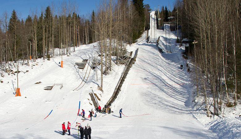 Innbygda Trysil 187 Ski Jumping Hill Archive