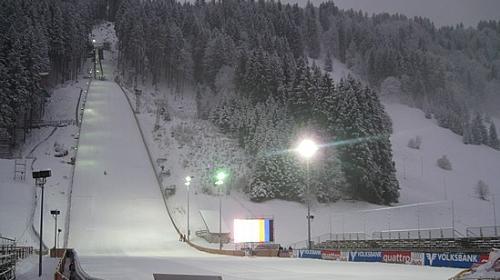 Znalezione obrazy dla zapytania engelberg ski jump night