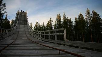Koskullskulle 187 Ski Jumping Hill Archive