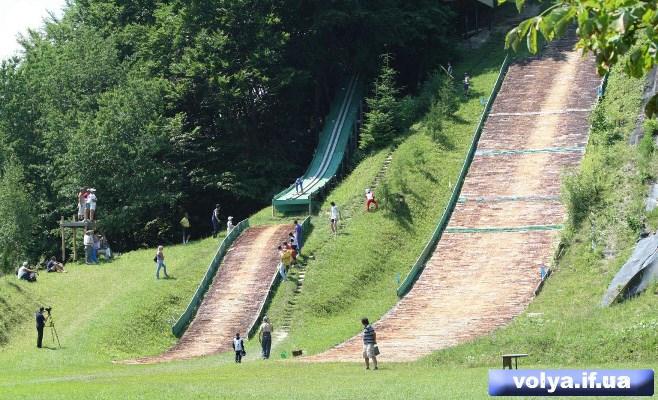 Nadvirna 187 Ski Jumping Hill Archive 187 Skisprungschanzen Com