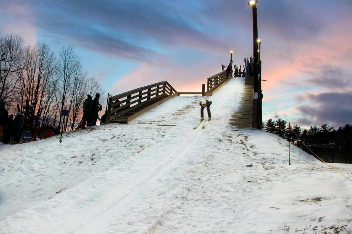 bobcat skiing plymouth ski jumping hill archive skisprungschanzencom