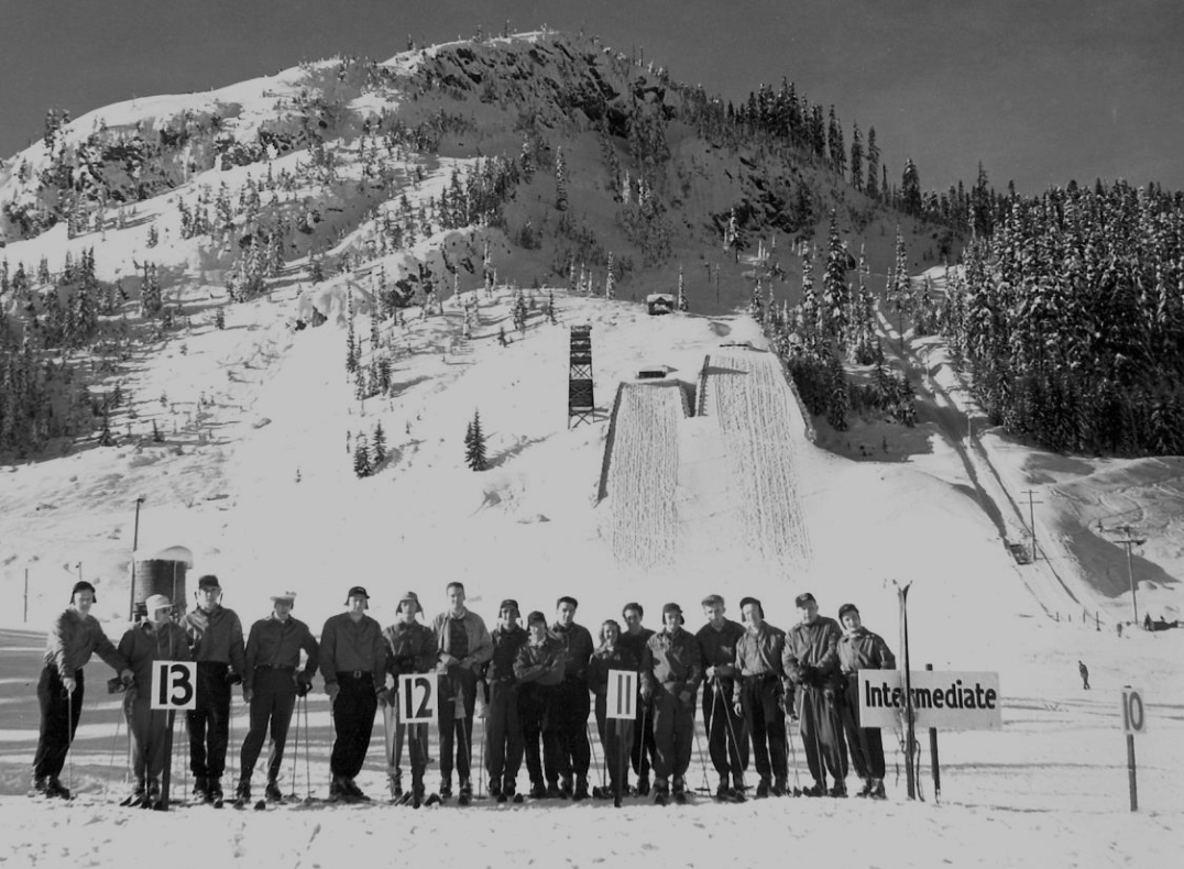 Hyak, Snoqualmie Pass » Ski Jumping Hill Archive